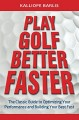 ForPressRelease.com - Successful Golfers See Their Shots Before Executing! New Bestseller Divulges How To Create Winning in Golf and Life!