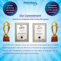 ForPressRelease.com - Alembic  honored at the 'Gujarat Best Employer Brand Awards 2017' in the category of 'Outstanding contribution to the cause of Education'