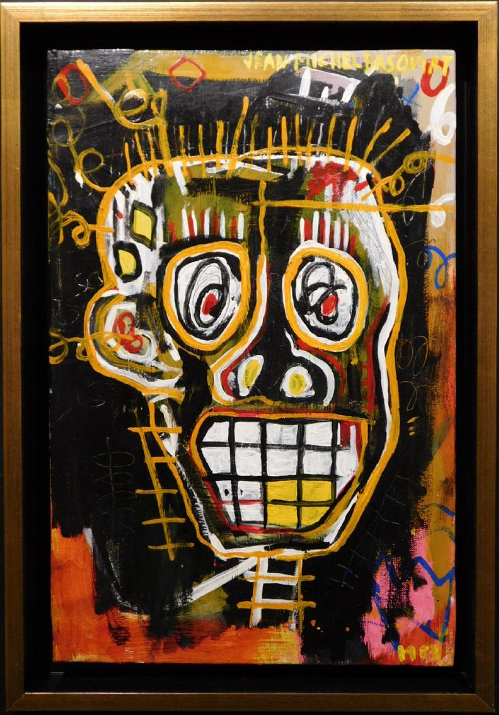 9db5ade217c Basquiat and Warhol share the spotlight in Woodshed Art Auctions  online  fine art sale