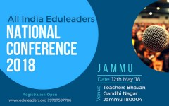ForPressRelease.com - Tekshapers attended & participated in All India Edu-leaders National Conference 2018 at Jammu on 12th May'18