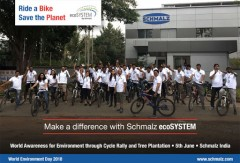 ForPressRelease.com - Schmalz India makes a difference with Cycle Rally and Tree Plantation