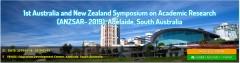 ForPressRelease.com - 1st Australia and New Zealand Symposium on Academic Research (ANZSAR- 2019), Adelaide, South Australia