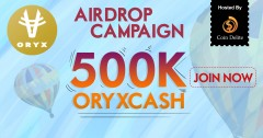 ForPressRelease.com - Oryx Launches OryxCash Airdrop Campaign