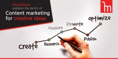 ForPressRelease.com - MyHobbes explains the tactics of Content marketing for creative ideas