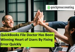 ForPressRelease.com - Research Says: QuickBooks File Doctor Has Been Winning Heart of Users By Fixing Error Quickly
