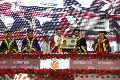 ForPressRelease.com - Vice-President Mr Venkaiah Naidu chaired LPU's 9th Convocation at the Campus