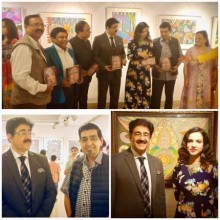 ForPressRelease.com - Sandeep Marwah Inaugurated Exhibition of Paintings by Meher Juneja