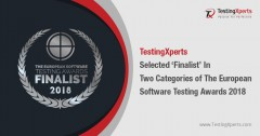 ForPressRelease.com - TestingXperts Selected 'Finalist' In Two Categories Of The European Software Testing Awards 2018