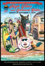 ForPressRelease.com - Theme of 2019 Monterey County Fair, 'High Tides and Carnival Rides,' and official poster unveiled