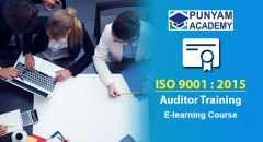 ForPressRelease.com - Punyam Academy has Launched ISO 9001 Certified Internal Auditor E-learning Course
