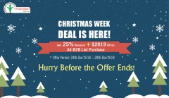 ForPressRelease.com - Christmas Week Offer: Thomson Data Reveals 25% Off on B2B Lists