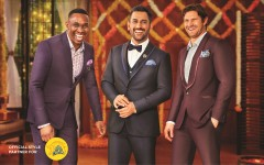ForPressRelease.com - MS Dhoni along with Shane Watson, Dwayne Bravo and Murali Vijay sport striking looks from Peter England's Wedding Suits and Blazers Collection