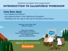 ForPressRelease.com - Ignite Technology and Innovation and Salesforce Host Workshop in Baltimore