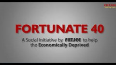 ForPressRelease.com - Fortunate 40 – A social initiative by FIITJEE to help the economically weak students