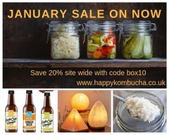 ForPressRelease.com - January Sale Now On at Happy Kombuca
