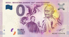 ForPressRelease.com - First-ever Euro Souvenir Banknotes launched to celebrate Gandhi's 150th birth year