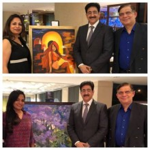 ForPressRelease.com - Sandeep Marwah Inaugurated Exhibition at Sheraton