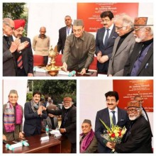 ForPressRelease.com - Sandeep Marwah Inaugurated Exhibition of Paintings by Biman Das
