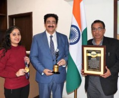 ForPressRelease.com - 5th World Record of Sandeep Marwah Registered With Vajra