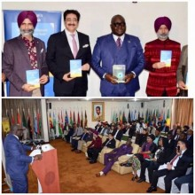 ForPressRelease.com - Sandeep Marwah at Book Release at Ghana High Commission