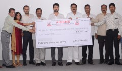 ForPressRelease.com - AISSMS Donates a total of Rs.5 lakh to the family members of Pulwama martyrs from Maharashtra
