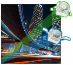 ForPressRelease.com - New Vishay Space-Saving Ultrabright LEDs Produce High Luminous Flux and Intensity