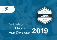 ForPressRelease.com - Biz4solutions LLC Bags Third Spot in The Top Mobile App Development Companies in Dallas, 2019