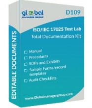 ForPressRelease.com - Global Manager Group Reduces the Price of its ISO/IEC 17025:2017 Documentation Kits